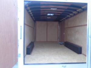 LOWEST PRICE FOR 2016 ATLAS 8X14' ENCLOSED CARGO -$5399 WOW London Ontario image 2