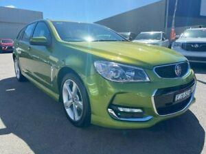 2016 Holden Commodore VF II MY16 SV6 Sportwagon Green 6 Speed Sports Automatic Wagon Cardiff Lake Macquarie Area Preview