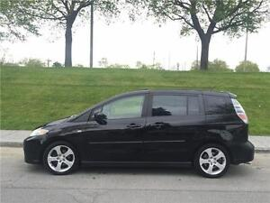 2007 MAZDA 5 , MANUEL , 6 PASSAGERS , TOIT OUVRANT , 4 CYLINDRE