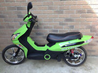 Green DayMak E-Scooter (Top Speed: 40km-45km)