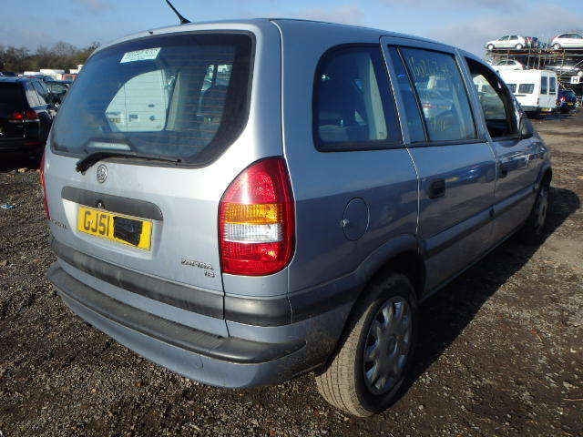 Vauxhall Zafira O/S Rear Light 2002
