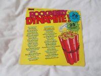 Vinyl LP Rcok A Billy Dynamite! – Various Artists Warwick WW5060 Stereo 1979