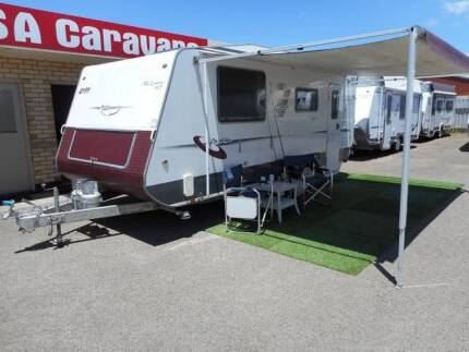 "2010 A'van ""Liam"" Caravan with Air Conditioning and Ensuite Hampstead Gardens Port Adelaide Area Preview"