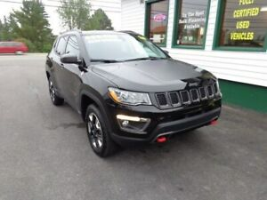 2018 Jeep Compass Trailhawk 4x4 for only $235 bi-weekly all in!
