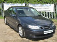 SAAB 9-3 LINEAR SPORT 1.8 2006 (06) ONLY 88K FSH / ONE PREVIOUS OWNER / STUNNING