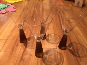 Set of 4 Artland Crystal Wine Glasses - Prescott Collection