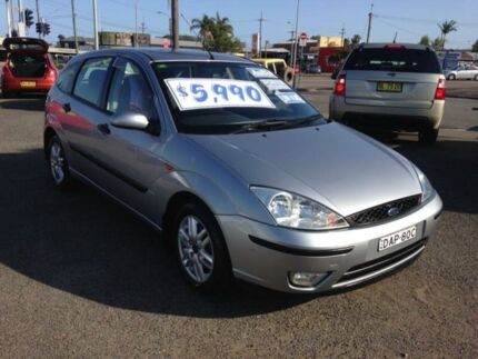 2004 Ford Focus LR SR Blue 4 Speed Automatic Hatchback Broadmeadow Newcastle Area Preview