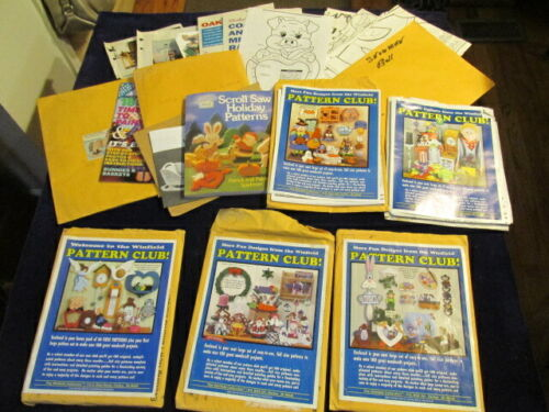 Woodworking Pattern 500+ Project Plan Sets Winfield & MORE Many Full Size STb