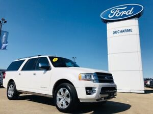 2017 Ford Expedition MAX Platinum MAX, LOADED, 3.5L Ecoboost, 8