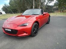 2015 Mazda MX-5 ND Roadster SKYACTIV-MT Soul Red 6 Speed Manual Convertible Young Young Area Preview