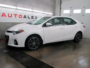2014 Toyota Corolla S NAVIGATION CUIR TOIT MAGS AUTOMATIQUE