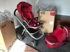 Nuna IVVI Pushchair and Carry Cot