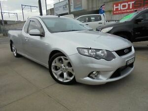 2009 Ford Falcon FG XR6 Silver 5 Speed Automatic 2D Cab Chassis Granville Parramatta Area Preview