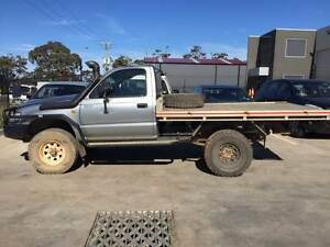 WRECKING - 2002 Toyota Hilux KZN single cab 4x4 Turbo Diesel Werribee Wyndham Area Preview