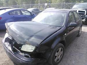 parting out 2000 Volkswagen jetta