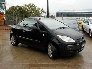 2006 Mitsubishi Colt RZ Black 5 Speed 5 Sp Manual Cabriolet North St Marys Penrith Area Preview