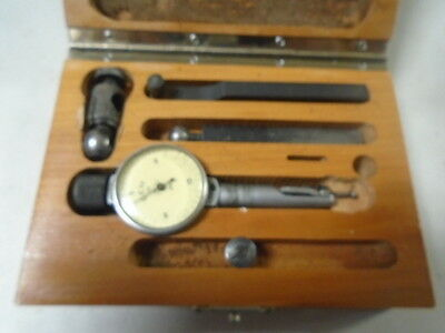 Machinist Tool Lathe Mill Brown Sharpe Bestest 7027 .0001 Dial Indicator Gage
