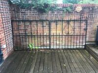 Iron Gates complete with fittings to suit 3M wide opening