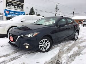 2014 Mazda 3 GT // FULLY LOADED!! NAVIGATION!! SUNROOF!!....