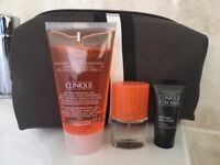 Clinique for Men samples and cosmetic bag - BRAND NEW