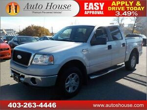 2007 FORD F150 CREW CAB 4X4 CALL 403 262 2949