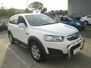 2014 Holden Captiva CG MY14 5 LT (FWD) White 6 Speed Manual Wagon Moorabbin Kingston Area Preview