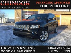 2014 Jeep Compass Limited 4x4-Navi,Heatd Leathr,Sunroof,Rear Cam