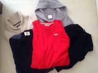 RALPH LAUREN, RIVER ISLAND , SUPERDRY, FAT FACE JUMPERS SIZE M BARGAIN