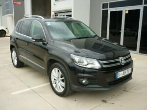 2012 Volkswagen Tiguan 5N MY12.5 155TSI DSG 4MOTION Black 7 Speed Sports Automatic Dual Clutch Wagon Grovedale Geelong City Preview