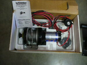 NEW - SUPER WINCH X1 COMPLETE KIT