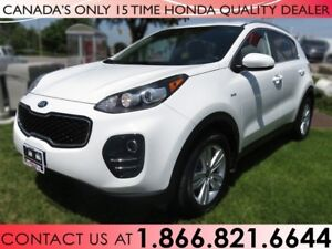2017 Kia Sportage LX | AWD | NO ACCIDENTS | LOW KM'S