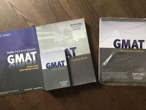GMAT and SAT books