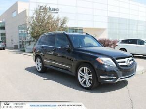 2015 Mercedes-Benz GLK-CLASS BlueTEC/AWD/NAVIGATION/HEATED SEATS