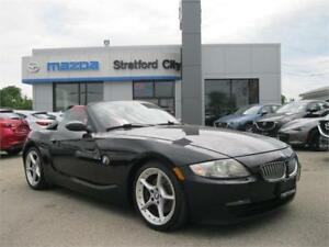 2008 BMW Z4 3.0si RED LEATHER! LOCAL TRADE! NO ACCIDENTS!