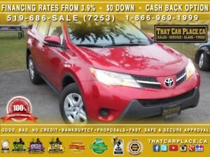 2015 Toyota Rav4 LE|$78/Wk|AWD|Bluetooth|PWR Group|Reliable