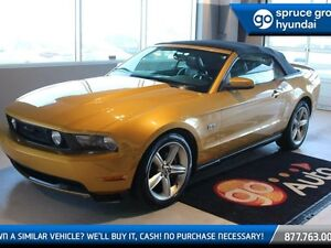 2010 Ford Mustang GT 4.6L V8 MANUAL LEATHER LOADED RAG TOP LOW K