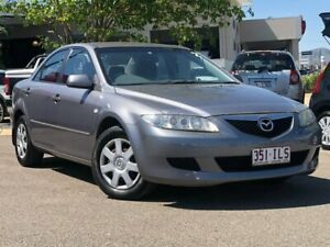 2004 Mazda 6 GG1031 MY04 Limited Grey 5 Speed Manual Sedan Garbutt Townsville City Preview