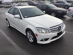 2008 Mercedes Benz C300, low kms, sunroof,BRAND NEW TIRES,MINT