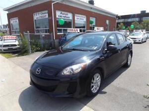 MAZDA 3 GX 2013 mags,blutooth, 58900km seulement 44$/semaine