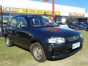 1997 Mazda 121 DW1031 Metro Green 5 Speed Manual Hatchback Kippa-ring Redcliffe Area Preview