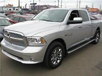 2014 RAM 1500 LTD RAM BOX AIR SUSPENSION LOADED SUN ROOF