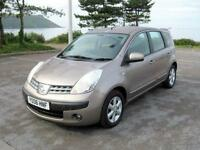 2006 (06) Nissan Note SE Auto, 1598cc Petrol, Automatic