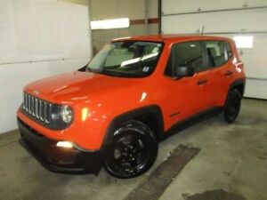 2015 Jeep Renegade Sport (CLEAN CARFAX! IMMACULATE TRADE! A/C, P