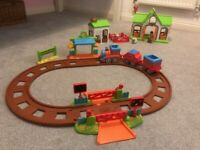 Happy land train and farm set