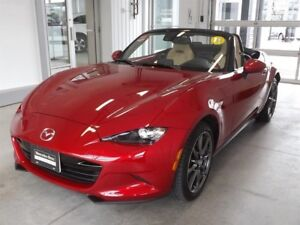 2016 Mazda MX-5 GT at Tan Leather