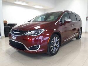 2017 Chrysler Pacifica Limited, 8 PASSAGER, CUIR, DVD, NAV,