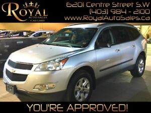 2012 Chevrolet Traverse LS w/ 8 SEATS, ALARM SYSTEM, CRUISE CONT