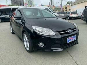 2012 Ford Focus LW MK2 Titanium Black 6 Speed Automatic Sedan Southport Gold Coast City Preview