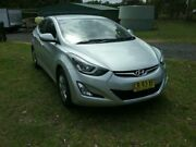 2014 Hyundai Elantra MD SERIES 2(MD3) Active Silver Automatic Sedan Rossmore Liverpool Area Preview