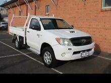 2007 Toyota Hilux 2007 HILUX 4X4 SR 3.0L T DIESEL MANUAL SINGLE CAB C/C 258476 White Manual Devonport Devonport Area Preview